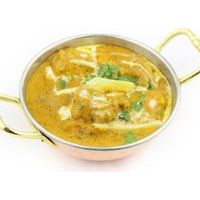 Chicken in curry sauce