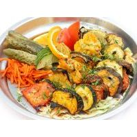 Tandoor cooked  piquant vegetables (eggplants, sweet peppers, tomatoes, zucchini)